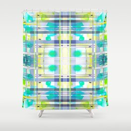 THE WINDOW IN BLUE LIGHT Shower Curtain