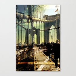 to the other side of Brooklyn Bridge Canvas Print