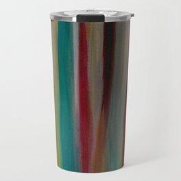 Colorful Acrylic Painting Paths Travel Mug