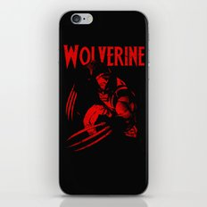 theWOLVERINE iPhone & iPod Skin