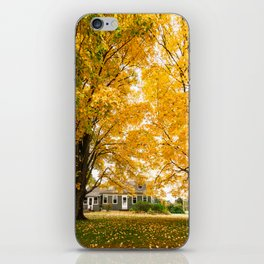 home in vermont iPhone Skin