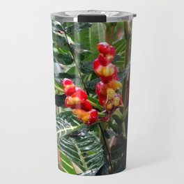Tropical Heliconia Flowers 03 Travel Mug