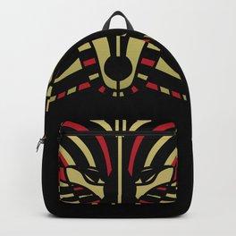 Coyote Trickster Tribal Art Totem Backpack