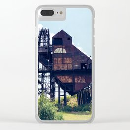 Victor mine Clear iPhone Case