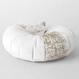 Alpaca Front & Center Floor Pillow