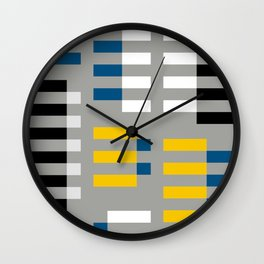 ALBERS TRIBUTE Wall Clock