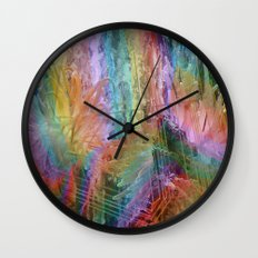 sea rainbow Wall Clock