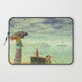 Down By The Sea Laptop Sleeve