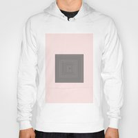 square Hoodies featuring Square by Elina Dahl