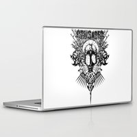 medieval Laptop & iPad Skins featuring Medieval Crusader by Tshirt-Factory