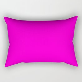 Pink neon color bright summer Rectangular Pillow