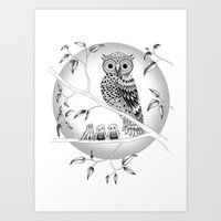 Wildlings Art Print