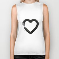 write Biker Tanks featuring Love to write by Colorblind