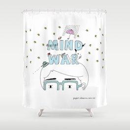 Mind War Shower Curtain