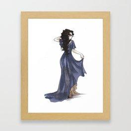 Lady Sybil Burrows Framed Art Print