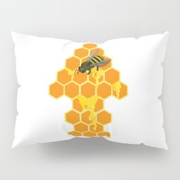Oh Beehive, Honey Pillow Sham