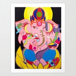BX Ganesha Art Print