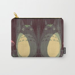My Neighbor Totoro (Waiting for the bus in the rain IN THE RAIN) Carry-All Pouch