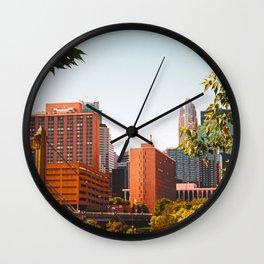 Minneapolis Minnesota Architecture Wall Clock