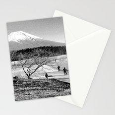 mt fuji Stationery Cards