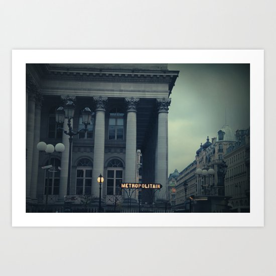 París 2 Art Print