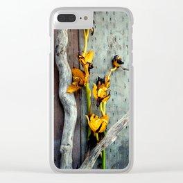 Seen Better Days Clear iPhone Case