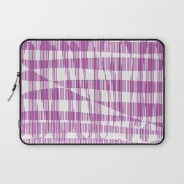 Purple/Violet Pattern Laptop Sleeve