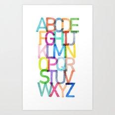 ABCs Art Print