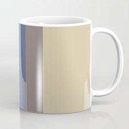 Stripes: Soybean, Princess Blue, and Eclipse Coffee Mug