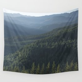 PNW Forest Adventure III - Nature Photography Wall Tapestry