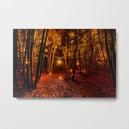 Electric Forest Disco Metal Print