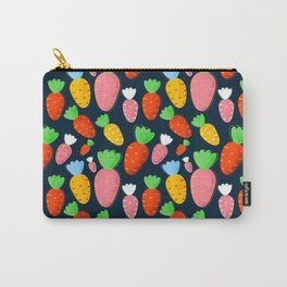 Carrots not only for bunnies - seamless pattern Carry-All Pouch