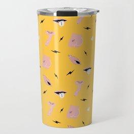 Millennial Butt Pattern Travel Mug