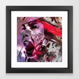 Joan Ferguson Graffiti Framed Art Print