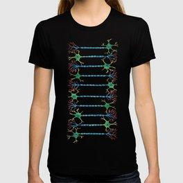 Neuron 5 in White T-shirt