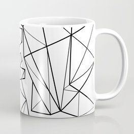 Origami Heart Coffee Mug