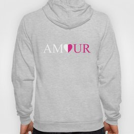 Amour Pink Design Hoody