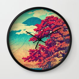 The New Year in Hisseii Wall Clock