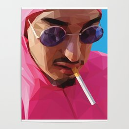 Pink Guy Poster
