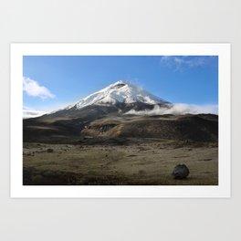 Cotopaxi volcano Art Print