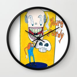 You're Purdy Wall Clock