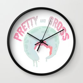 Pretty Gross Wall Clock