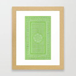 Fifty-two Framed Art Print