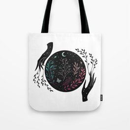 Full Moon Garden Tote Bag