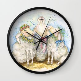 Spring Time Song Wall Clock