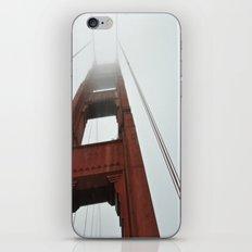 Fog on the Golden Gate iPhone & iPod Skin