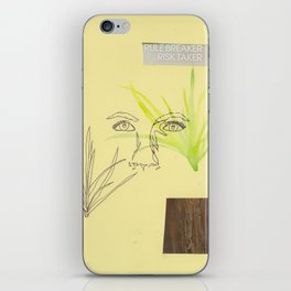 risk taker iPhone Skin
