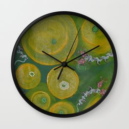 """Creative Seeds"" by ICA PAVON Wall Clock"