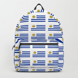 flag of Uruguay 2 -Uruguyan,montevideo,spanish,america,latine,Salto,south america,paysandu,costa,sun Backpack