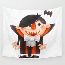 Dracula kid Wall Tapestry